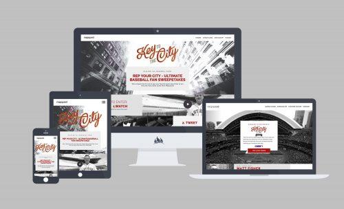 Responsive web development for Mapquest campaign