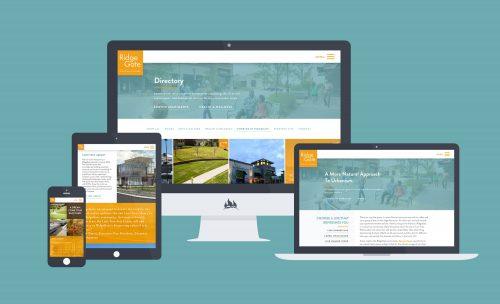 Mobile first design mock ups for community website
