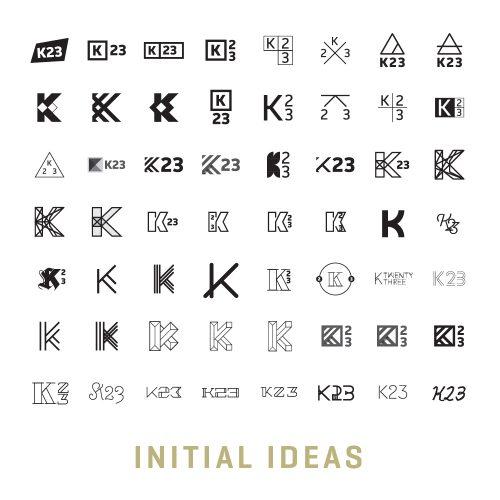 The beginning of FIREANT's branding process for K23 Media