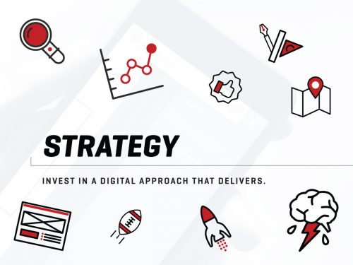 Digital strategy is a key part of the FIREANT web development process